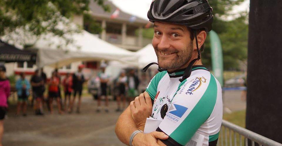 Nicolas Legault, l'acteur clé du Vélodrome de Bromont